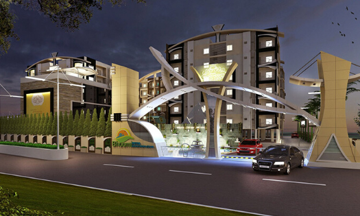 Bhoomi Golden Heights (3 BHK)
